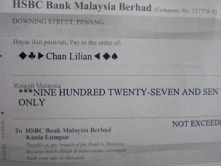 Nuffnang payment - RM927